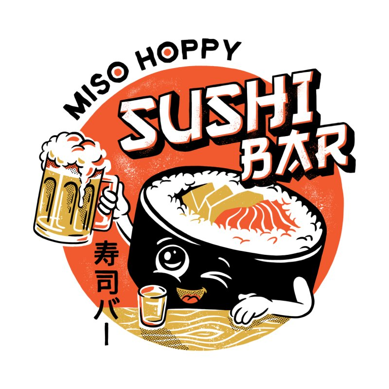 Sushi Bar - white variant by CPdesign's Artist Shop