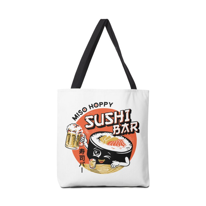 Sushi Bar - white variant Accessories Tote Bag Bag by CPdesign's Artist Shop