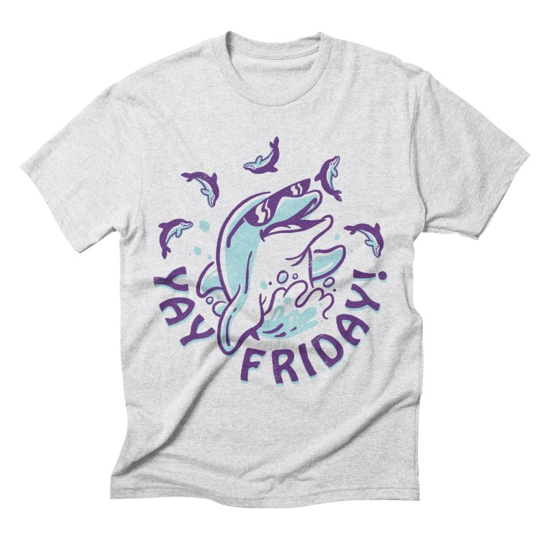 Yay Friday! Men's Triblend T-Shirt by CPdesign's Artist Shop