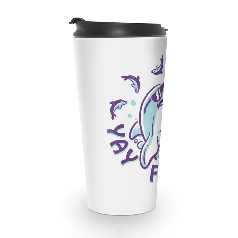 Yay Friday! Accessories Travel Mug by CPdesign's Artist Shop