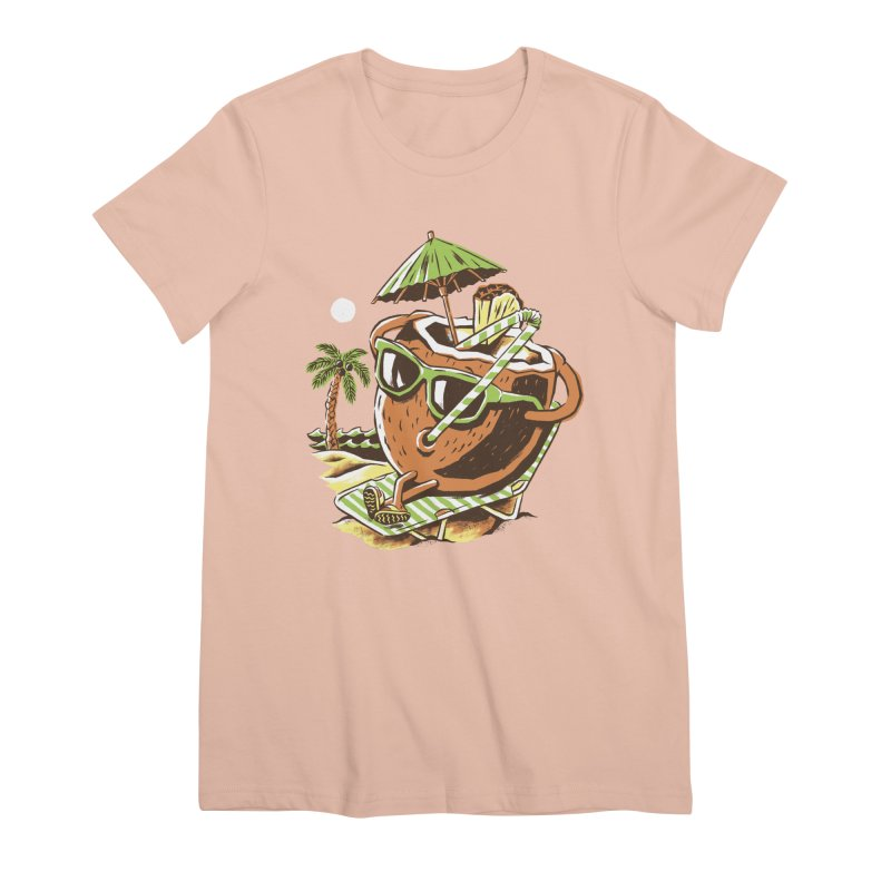 Livin the Dream Women's Premium T-Shirt by CPdesign's Artist Shop