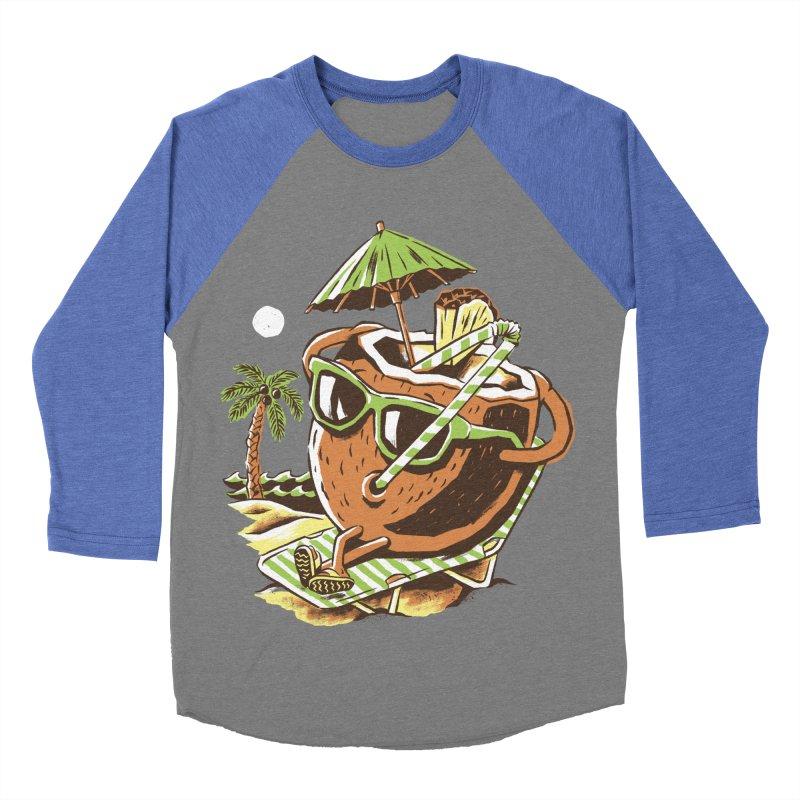 Livin the Dream Men's Baseball Triblend Longsleeve T-Shirt by CPdesign's Artist Shop