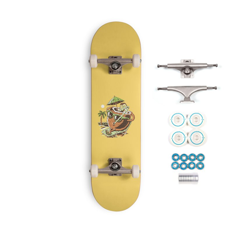 Livin the Dream Accessories Complete - Basic Skateboard by CPdesign's Artist Shop