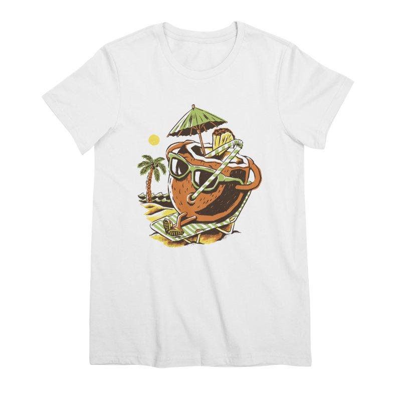 Living the Dream Women's Premium T-Shirt by CPdesign's Artist Shop