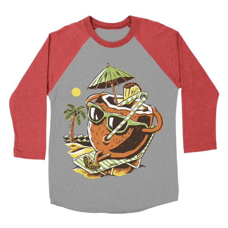 Living the Dream Men's Baseball Triblend Longsleeve T-Shirt by CPdesign's Artist Shop