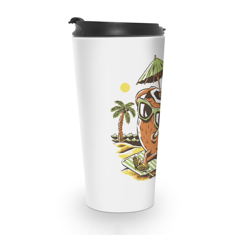 Living the Dream Accessories Travel Mug by CPdesign's Artist Shop
