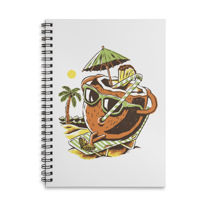 Living the Dream Accessories Lined Spiral Notebook by CPdesign's Artist Shop