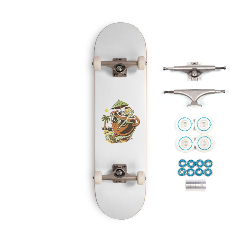 Living the Dream Accessories Complete - Basic Skateboard by CPdesign's Artist Shop