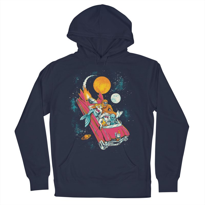 Fantasy Voyage Women's French Terry Pullover Hoody by CPdesign's Artist Shop