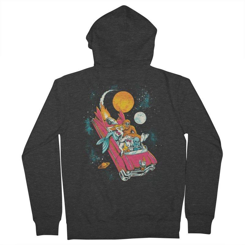 Fantasy Voyage Men's Zip-Up Hoody by CPdesign's Artist Shop