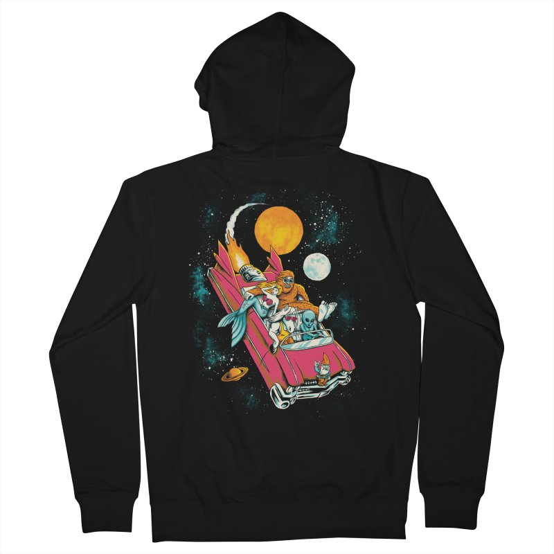 Fantasy Voyage Men's Zip-Up Hoody by CPdesign's Artist Shop