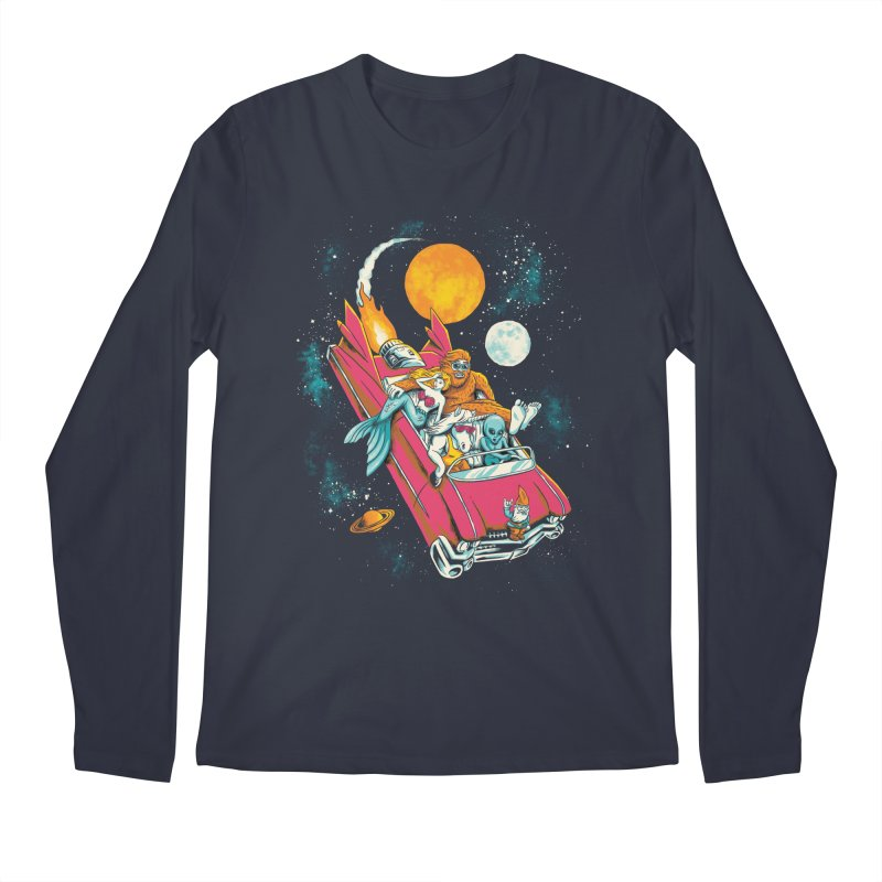 Fantasy Voyage Men's Longsleeve T-Shirt by CPdesign's Artist Shop