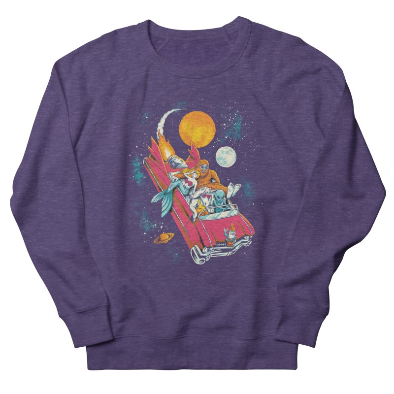 Fantasy Voyage Women's French Terry Sweatshirt by CPdesign's Artist Shop