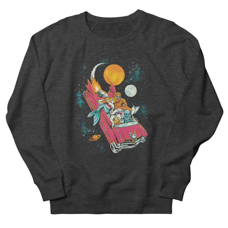 Fantasy Voyage Men's French Terry Sweatshirt by CPdesign's Artist Shop