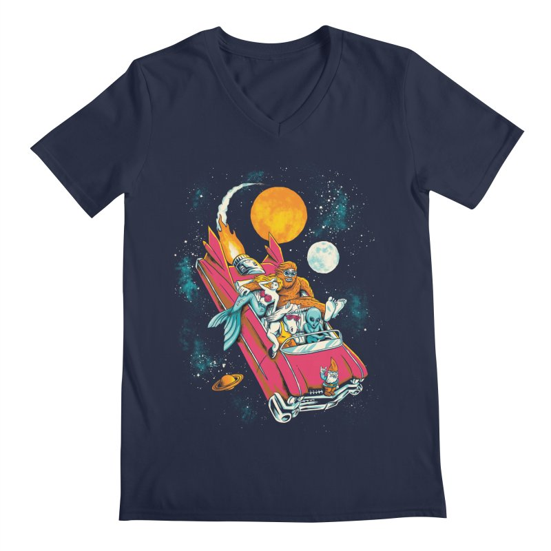 Fantasy Voyage Men's Regular V-Neck by CPdesign's Artist Shop