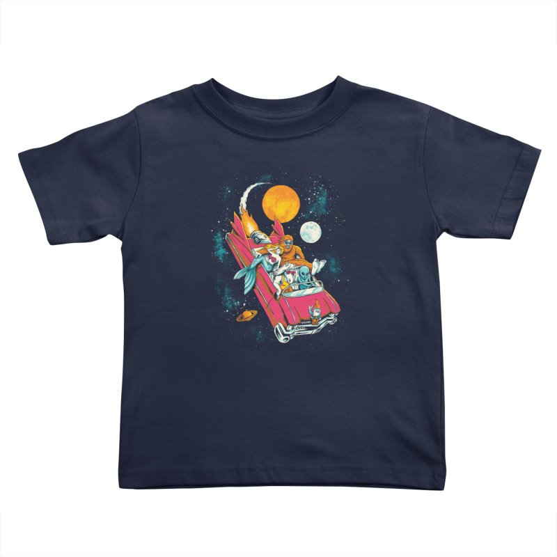 Fantasy Voyage Kids Toddler T-Shirt by CPdesign's Artist Shop