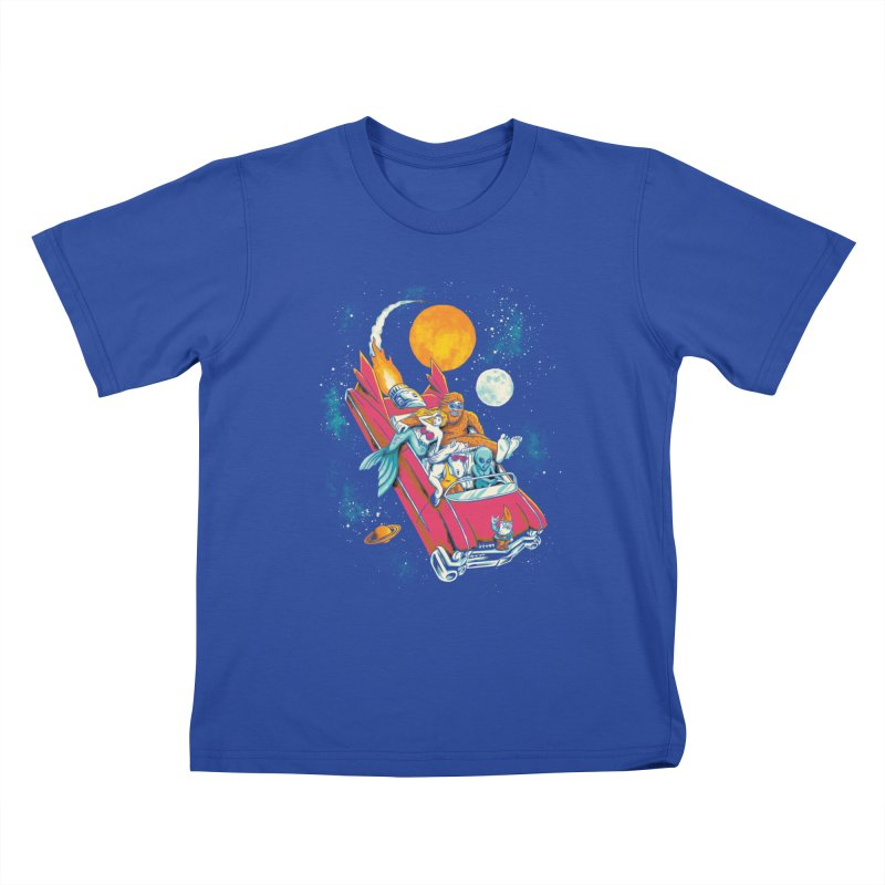 Fantasy Voyage Kids T-shirt by CPdesign's Artist Shop