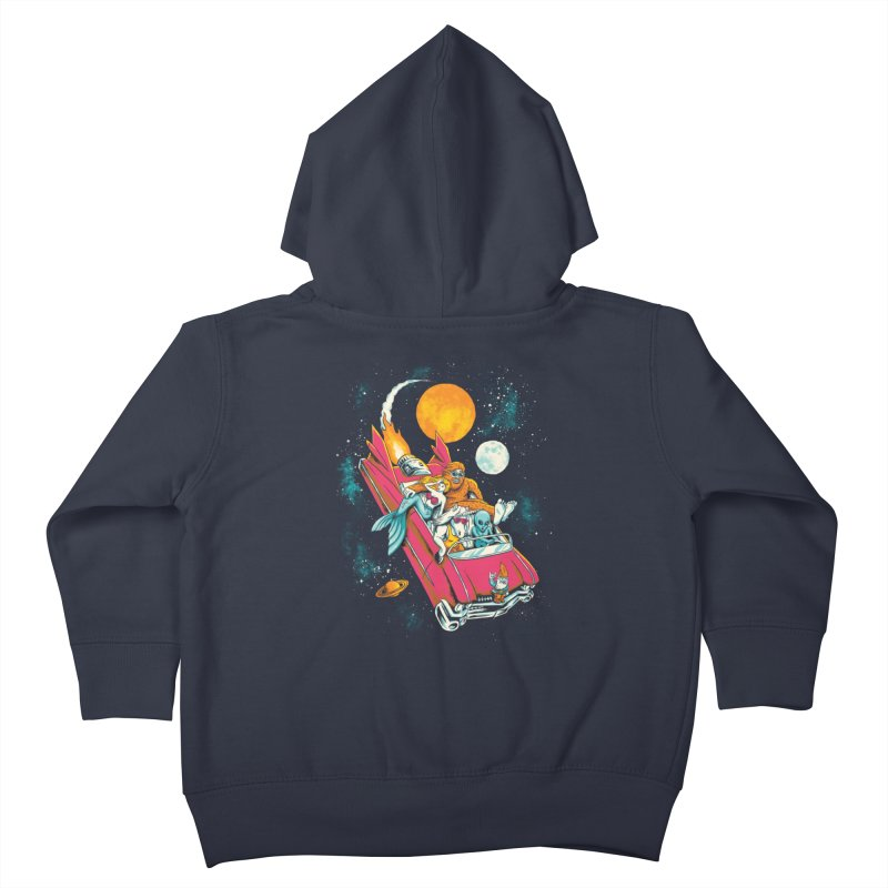Fantasy Voyage Kids Toddler Zip-Up Hoody by CPdesign's Artist Shop