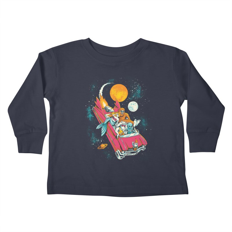 Fantasy Voyage Kids Toddler Longsleeve T-Shirt by CPdesign's Artist Shop