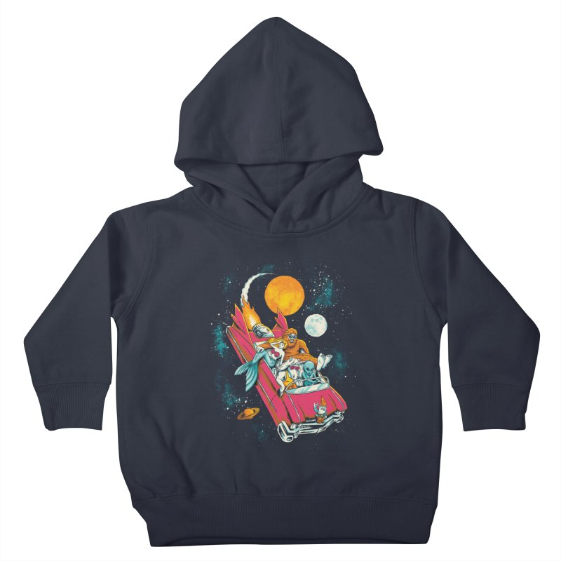 Fantasy Voyage Kids Toddler Pullover Hoody by CPdesign's Artist Shop