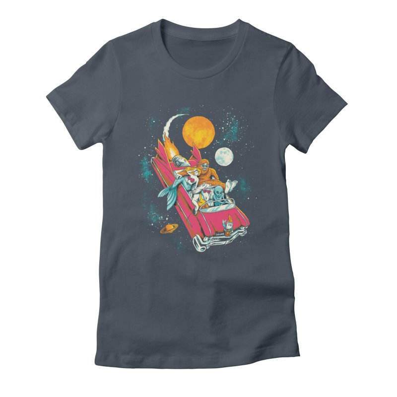Fantasy Voyage Women's Fitted T-Shirt by CPdesign's Artist Shop