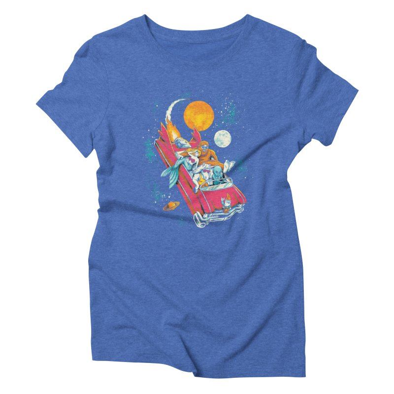 Fantasy Voyage Women's Triblend T-Shirt by CPdesign's Artist Shop