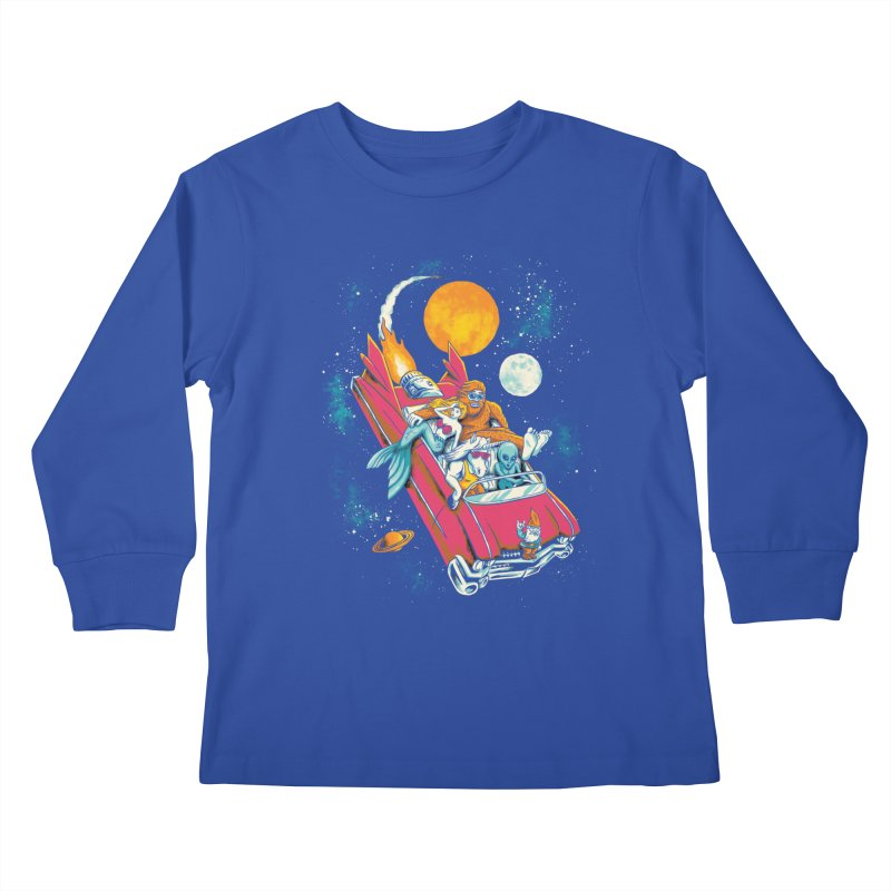 Fantasy Voyage Kids Longsleeve T-Shirt by CPdesign's Artist Shop