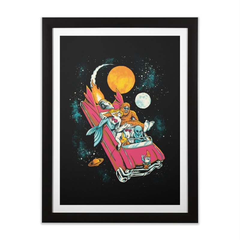 Fantasy Voyage Home Framed Fine Art Print by CPdesign's Artist Shop