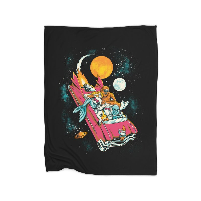 Fantasy Voyage Home Fleece Blanket by CPdesign's Artist Shop