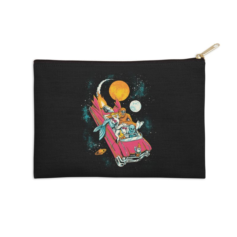 Fantasy Voyage Accessories Zip Pouch by CPdesign's Artist Shop
