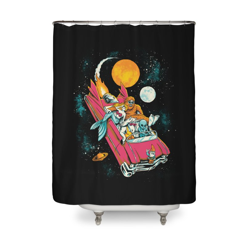 Fantasy Voyage Home Shower Curtain by CPdesign's Artist Shop