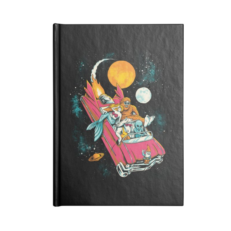 Fantasy Voyage Accessories Notebook by CPdesign's Artist Shop