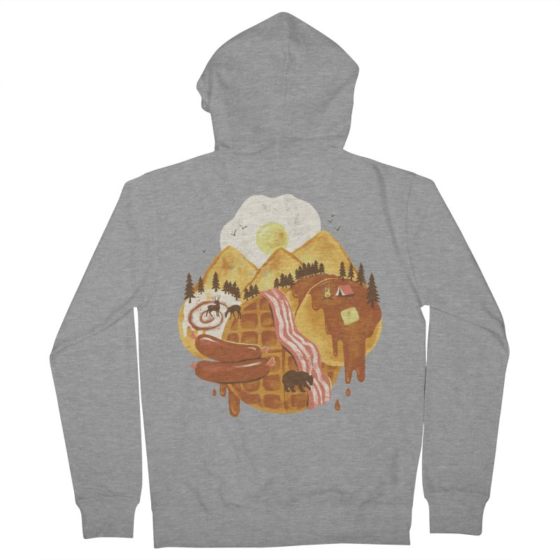 Breakfastscape Women's Zip-Up Hoody by CPdesign's Artist Shop