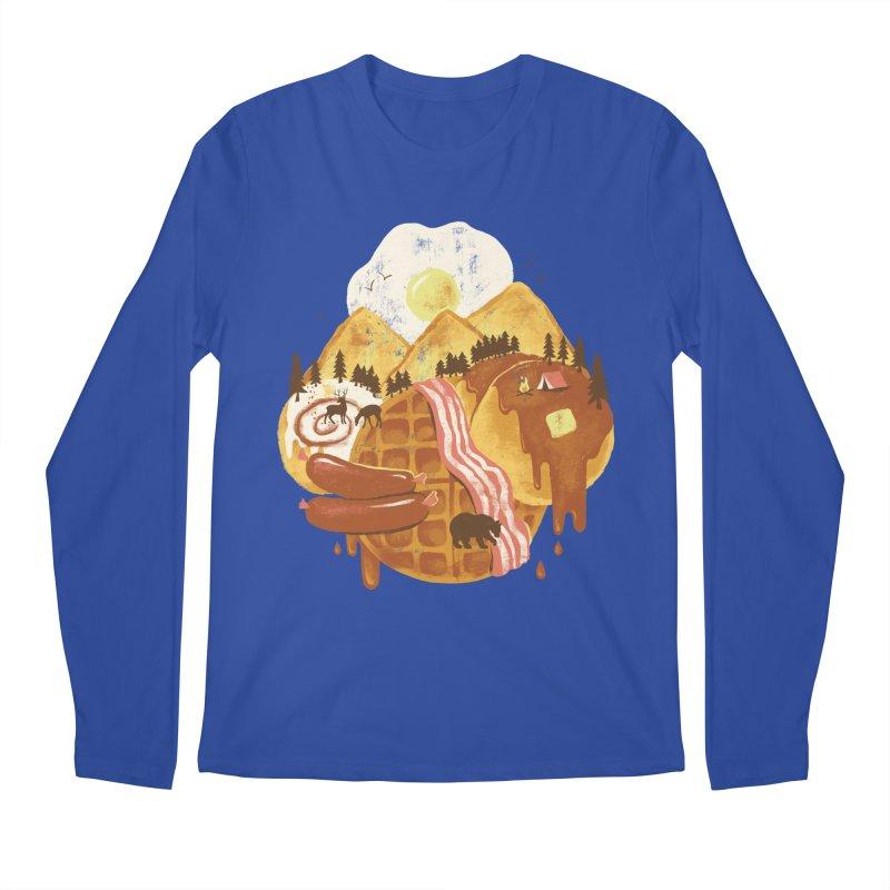 Breakfastscape Men's Longsleeve T-Shirt by CPdesign's Artist Shop