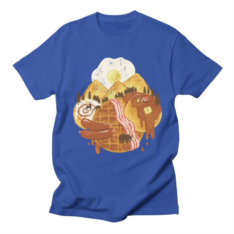 Breakfastscape Men's T-Shirt by CPdesign's Artist Shop