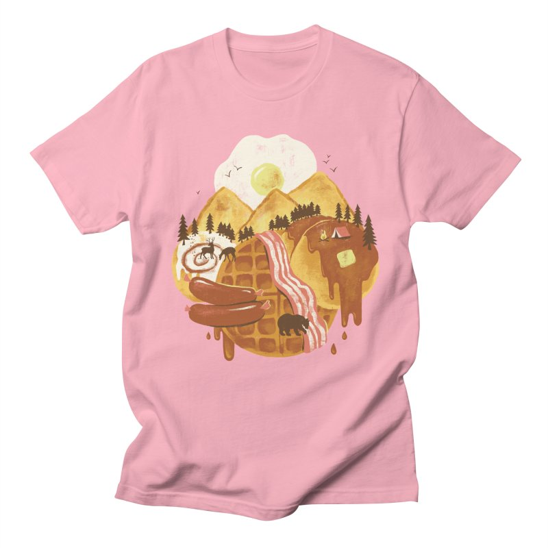 Breakfastscape Women's Regular Unisex T-Shirt by CPdesign's Artist Shop