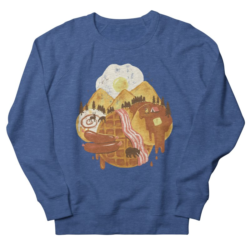 Breakfastscape Men's French Terry Sweatshirt by CPdesign's Artist Shop
