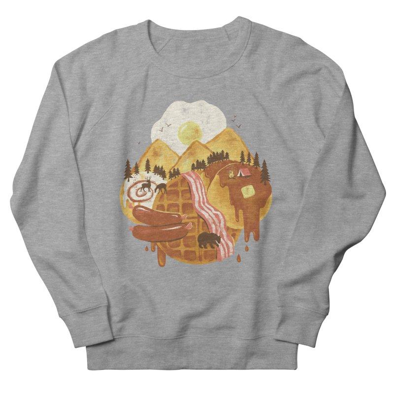 Breakfastscape Men's Sweatshirt by CPdesign's Artist Shop