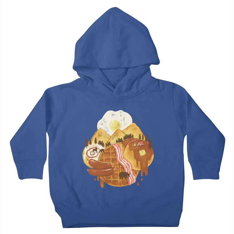 Breakfastscape Kids Toddler Pullover Hoody by CPdesign's Artist Shop