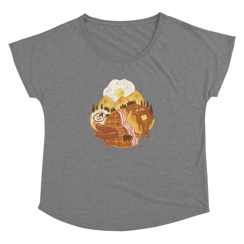 Breakfastscape Women's Dolman by CPdesign's Artist Shop