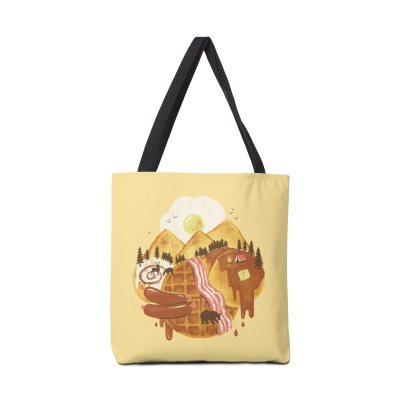 Breakfastscape Accessories Bag by CPdesign's Artist Shop