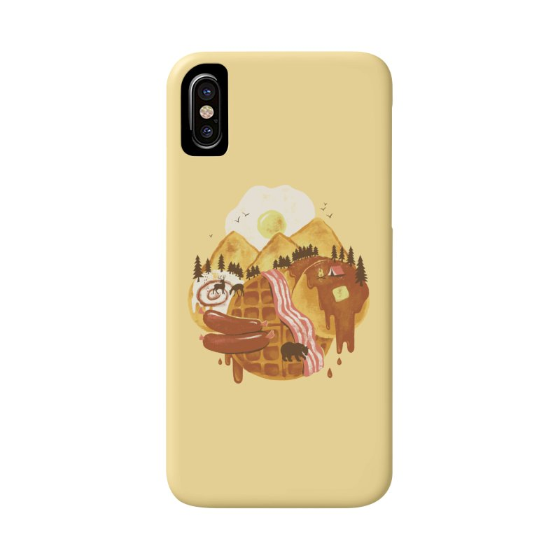 Breakfastscape Accessories Phone Case by CPdesign's Artist Shop