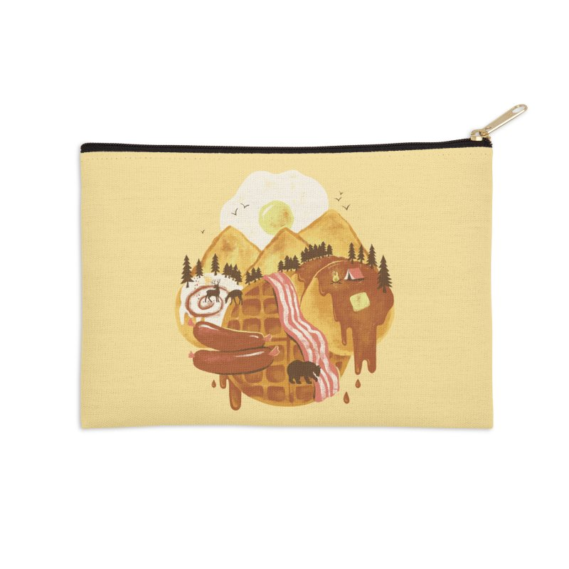 Breakfastscape Accessories Zip Pouch by CPdesign's Artist Shop