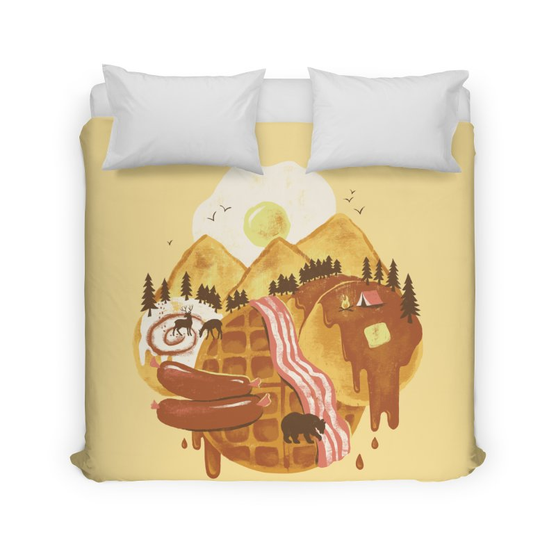 Breakfastscape Home Duvet by CPdesign's Artist Shop