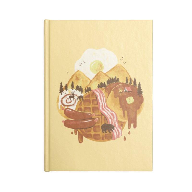 Breakfastscape Accessories Notebook by CPdesign's Artist Shop