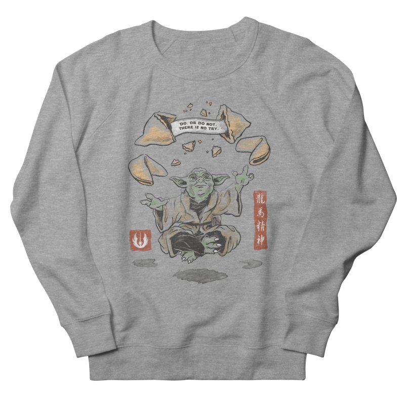 Forced Fortune Men's French Terry Sweatshirt by CPdesign's Artist Shop