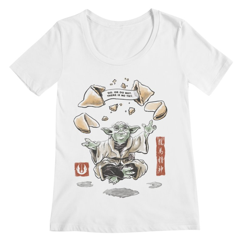 Forced Fortune Women's Scoopneck by CPdesign's Artist Shop