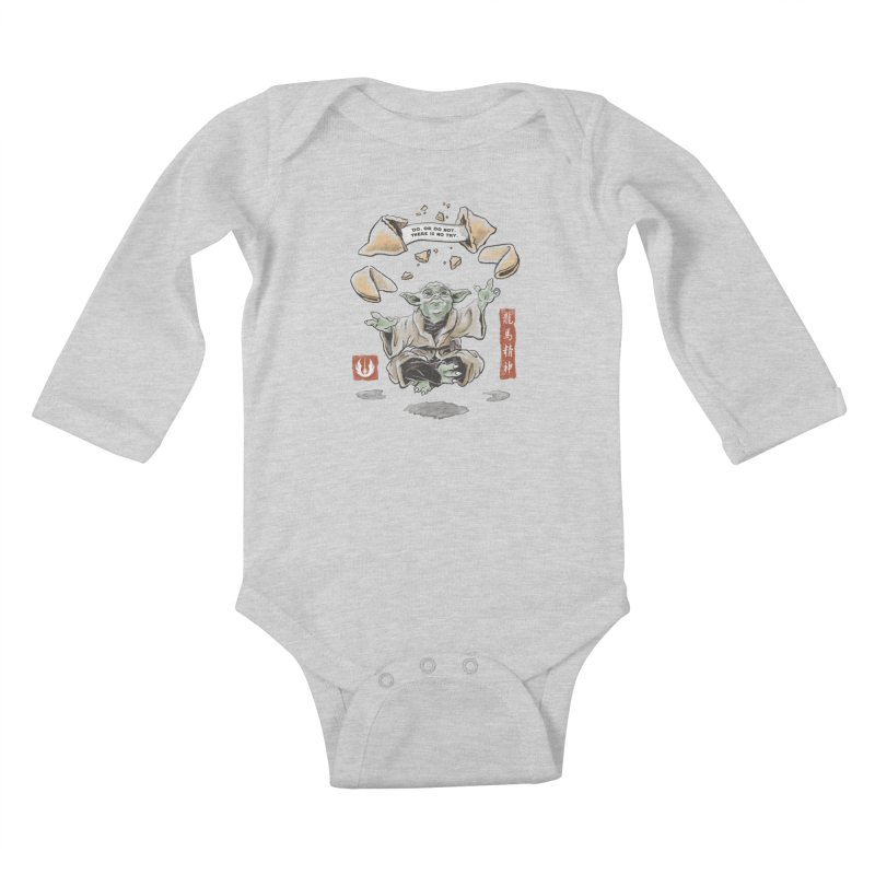 Forced Fortune Kids Baby Longsleeve Bodysuit by CPdesign's Artist Shop