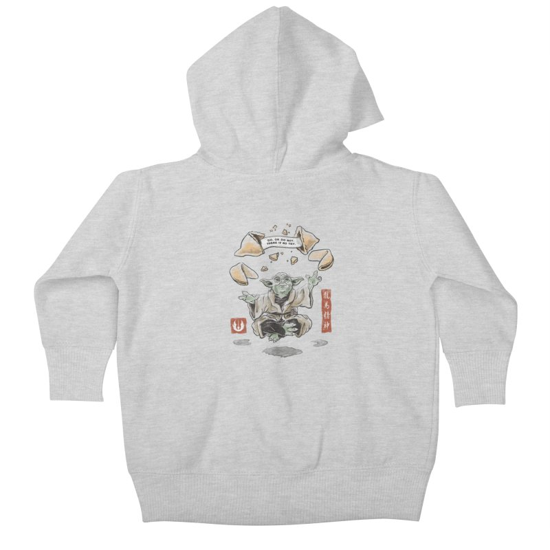 Forced Fortune Kids Baby Zip-Up Hoody by CPdesign's Artist Shop