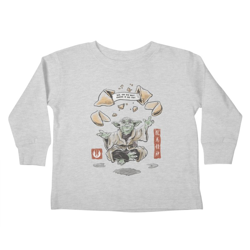 Forced Fortune Kids Toddler Longsleeve T-Shirt by CPdesign's Artist Shop